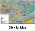 Bill Williams River Map