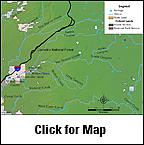 Wet Beaver Creek Map